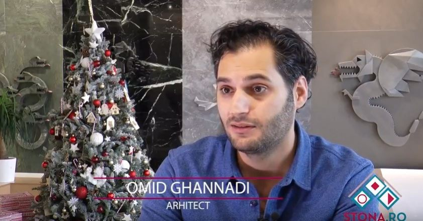 Interviu Omid Ghannadi la showroom-ul Stona