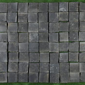 CALCAR, BLACK LIMESTONE, PLACAJ, 10X10, 3, NATURAL