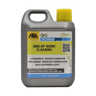 Detergent pentru spalarea la sfarsitul instalarii, FILA DETERDEK PRO 1L