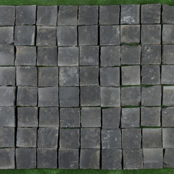 CALCAR, BLACK LIMESTONE, PAVAJ, 10X10, 3, NATURAL