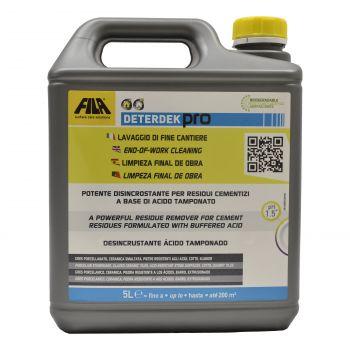 Detergent pentru spalarea la sfarsitul instalarii, FILA DETERDEK PRO 5L