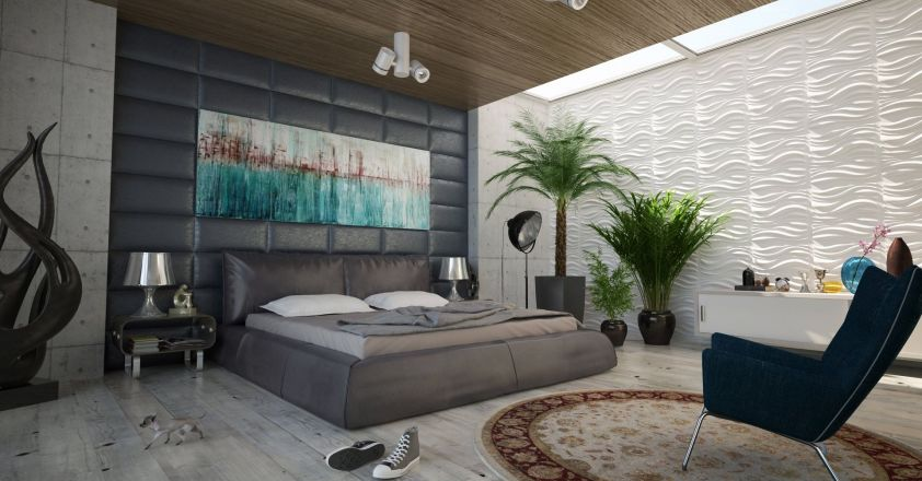 Modalitatii simple pentru a folosi piatra naturala in dormitor