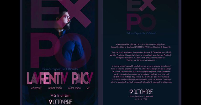 Expoziţia oficială Laurenţiu Paicu